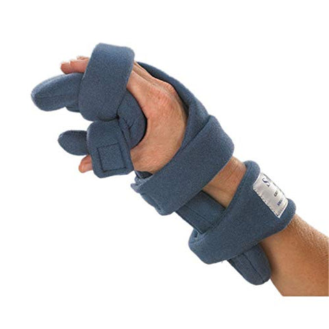 Stroke Hand Brace: SoftPro Functional Resting Hand Splint, Right, Small