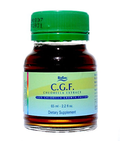 BioPure Chlorella Growth Factor CGF Liquid 2.2 fl oz (65 ml)