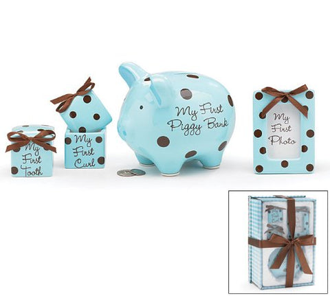 Baby Boy Keepsake Gift Set -Blue