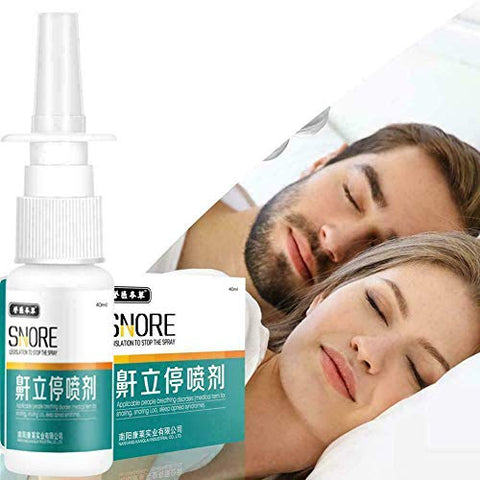 Anti-Snoring Throat Spray Anti Snoring Agent Anti-snoring Heath Tool Care Throat Relief Spray Adult snoring Snoring Solutions (Snoring Stop)