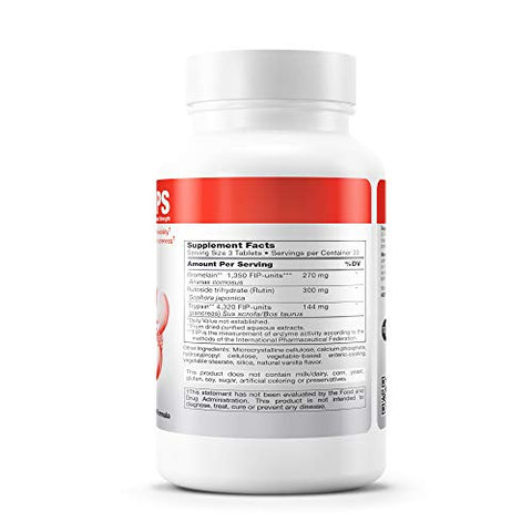 Wobenzym - Wobenzym PS - Supports Healthy Joints, Mobility and Flexibility* - 100 Tablets