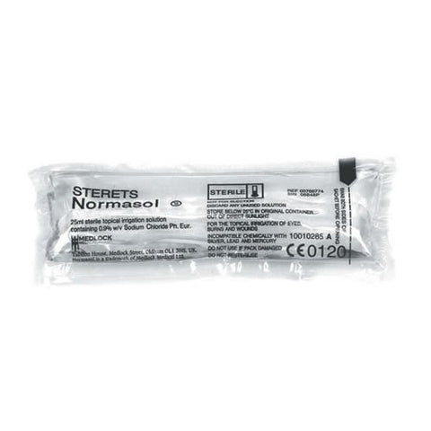 Sterets Normasol Sachets 25ml (x25)