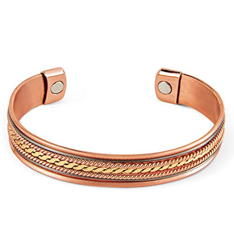 Women's Copper Magnetic Therapeutic Bracelets, Single
