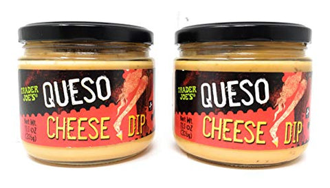 Trader Joe's Queso Cheese Dip 11.5oz, 2 Pack
