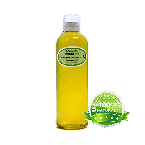 Jojoba Oil Golden Organic 100% Pure 12 Oz