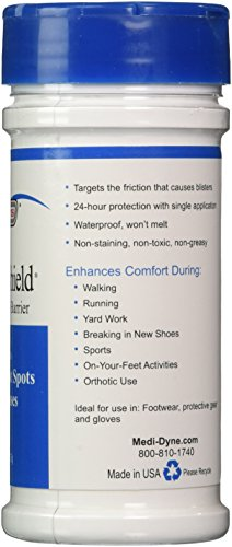 2Toms BlisterShield - Advanced Waterproof Blister Protection - Friction Free Barrier Prevents Blisters, Hot Spots & Calluses (2.5 Ounce)