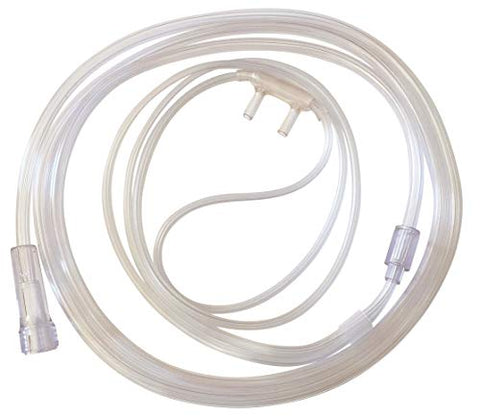 Westmed #0194 Adult Cannula Comfort Soft Plus with 4' Kink Resistant Tubing (Case of 50)