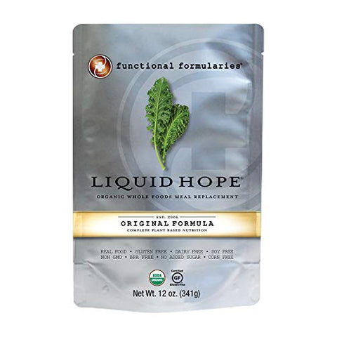 Functional Formularies Liquid Hope Organic Tube Feeding Formula And Nutritional Meal Replacement Sup