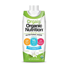 Orgain All-in-One Vanilla Flavored Nutritional Shake, 12 ct./11 oz.ES