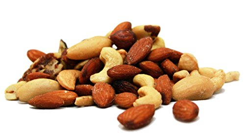 Deluxe Roasted and Salted Mixed Nuts (No Peanuts) by Its Delish, 5 lbs