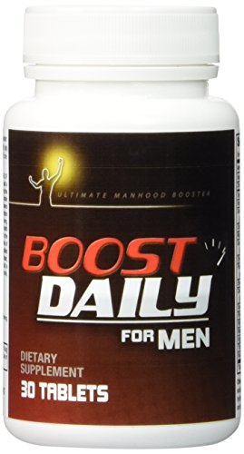 Boost Daily For Men Complete Natural Male Health Formula Maximum Male Health Support Blend Of Natura