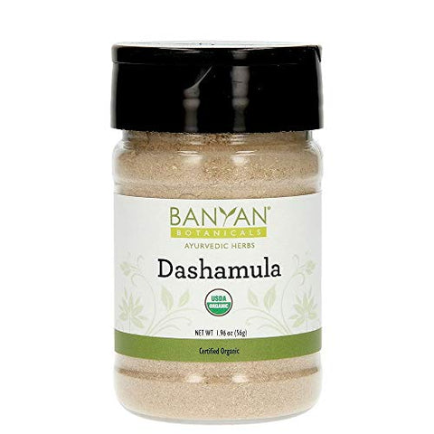 Banyan Botanicals Dashamula Powder - Certified Organic, Spice Jar - A Traditional Ayurvedic Formula for pacifying vata and Supporting Proper Function of The Nervous System*
