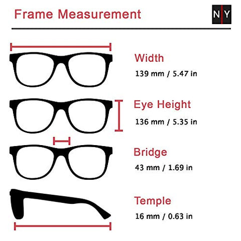 Venus, Premium Reading Glasses, High End Readers +1.25 to +4. Magnifying Glasses, Rectangular Optical Frame. Tortoise Blue. NY Fifth Avenue