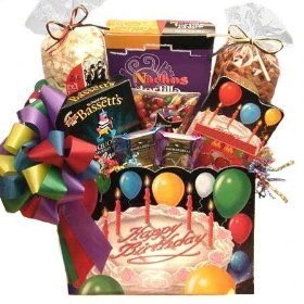 Birthday Wishes Gourmet Happy Birthday Gift Basket