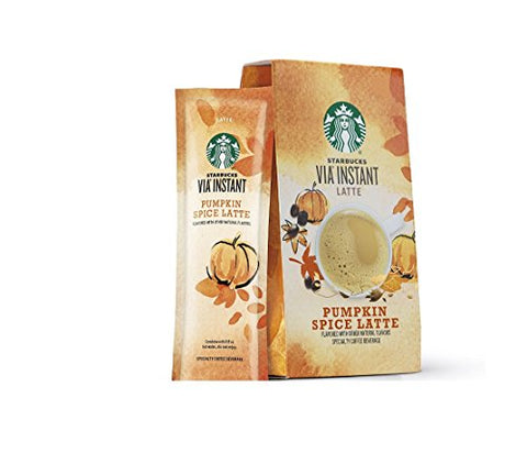 Starbucks VIA, Ready Brew, Pumpkin Spice Latte