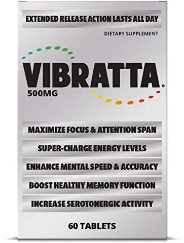 VIBRATTA for Energy, Mental Sharpness, and Memory