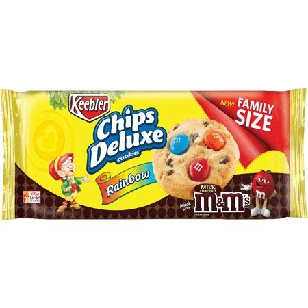 Keebler Chips Deluxe Rainbow Cookies, 17.2 Oz. (2 count) (Pack of 6)