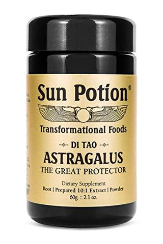 Sun Potion Astragalus Root Powder, 60 Gram