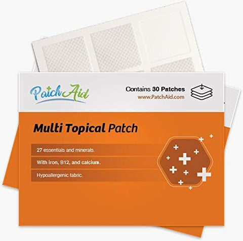 Multi Plus Topical Patch by PatchAid (3-Month Supply)