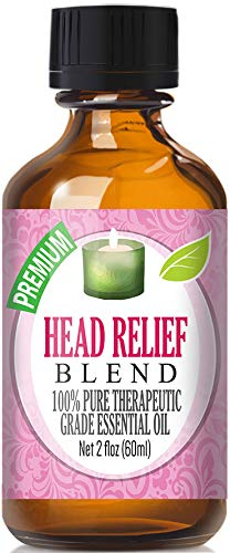 Head Relief Blend Essential Oil   100% Pure Therapeutic Grade Head Relief Blend Oil   60ml