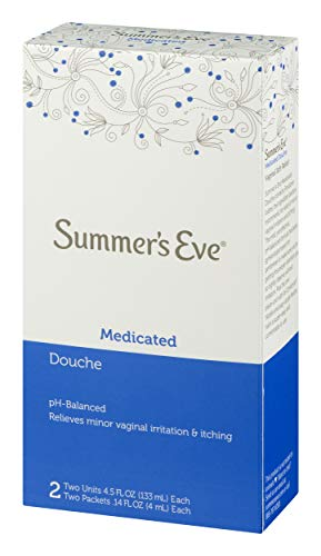 Summer's Eve Douche | Medicated | 4.5 oz Size | Pack of 6 | pH Balanced, Dermatologist & Gynecologist Tested
