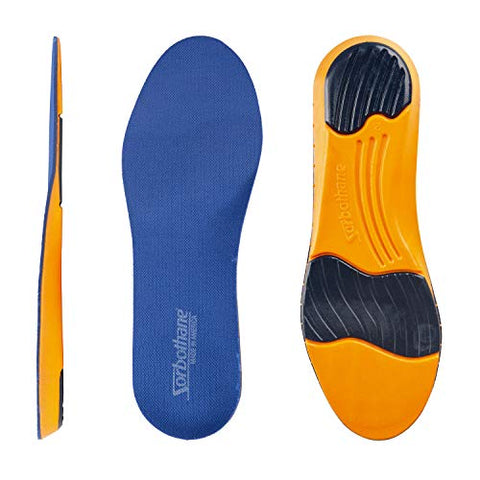 Rx Sorbo Sorbothane Ultra Work Sport Insole, Female - 12 / Male -9.5 - 10.5