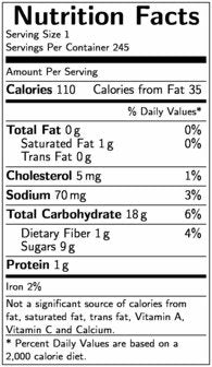 Bonzers Ultimate Reduced Fat Chocolate Chip Cookie Dough, 1 Ounce -- 245 per case.