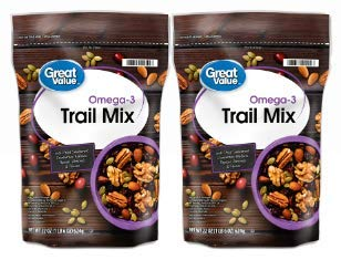 Great Value Omega3 Trail Mix, 22 Oz (Pack of 2)