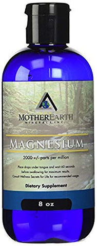Ionic Magnesium 8oz - Mother Earth Minerals 2 Pack