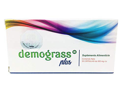 Demograss Plus (2 Pack) 60 Days Supply, Dietary Supplement, 100% Authentic, Original & Natural