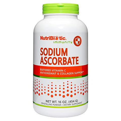 Nutribiotic Sodium Ascorbate Powder, 16 Ounce