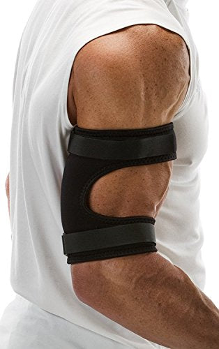"Cho-Pat Bicep/Tricep Cuff - Eases and Prevents Bicep/Tricep Strain, Injury, and Pain (Bicep/Tricep Tendonitis, Pulling and Tearing of Tendons, Inflammation) - Medium (10""-11"")"
