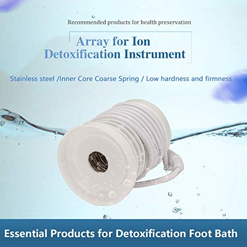 Vitaciti 2 Round Arrays for Ionic Detox Foot Bath Spa Cleanse Machine Replacement Array Accessory White