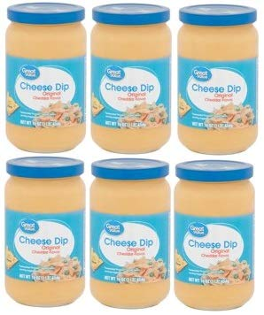 Great Value Original Cheddar Flavor Cheese Dip, 16 oz (Pack of 6)