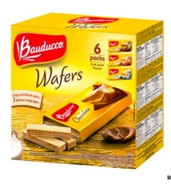 Bauducco Assorted Wafers, 6 pk