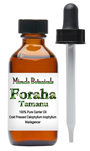 Miracle Botanicals Tamanu Oil (Foraha) - 100% Pure Calophyllum Inophyllum - Therapeutic Grade - 60ml/2oz.