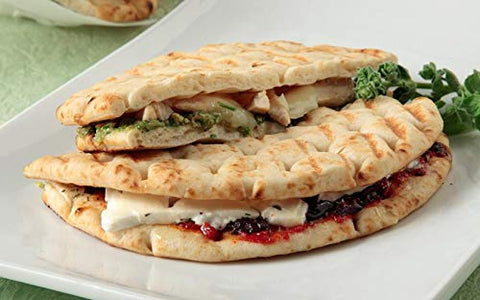 Greek Pita Bread, for Greek Souvlaki, 20 portions, 2 Packs of 10 Pcs, 1620gr/28.9oz