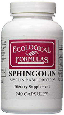 Ecological Formulas - Sphingolin 200 mg 240 caps [Health and Beauty]