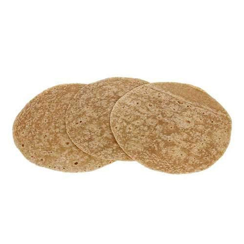 Mission Hearty Grains Ultra Heat Pressed Flour Tortillas, 12 inch -- 72 per case.