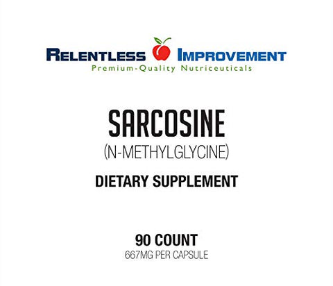 Relentless Improvement Sarcosine N-methylglycine