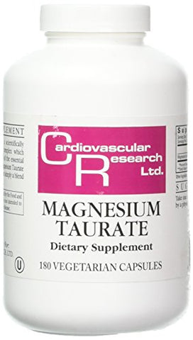 Ecological Formulas Magnesium Taurate Capsule, 125 mg, 180 Count