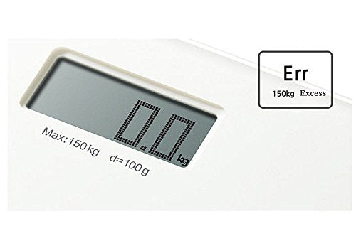 CAS X1 Digital Tempered Glass Lcd Bathroom Body Scales Auto Sensor Max150kg Size 11""