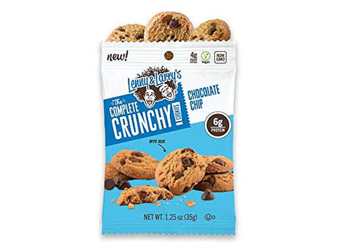 Lenny and Larrys The Complete Crunchy Cookie - NEW Bite Sized Plant Based Protein Cookies- 3 Variety, 4 of each flavor (12 pk) - Vegan - Non Gmo