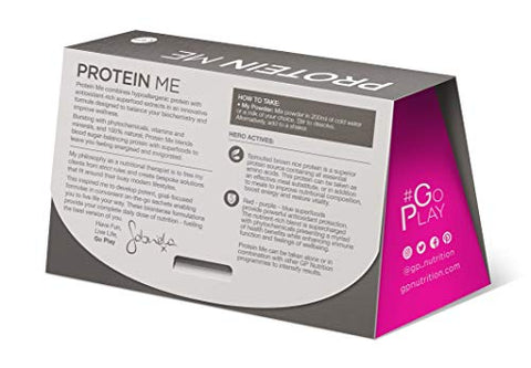 Protein Me 3 Days Natural Organic Vegan Protein Kit - Yummy Chocolate Milkshake Powder - Vegan Sprouted Brown Rice Protein & Raw Cacao - Boosts Energy & Vitality and Maintains Blood Sugar - 3 Days Kit