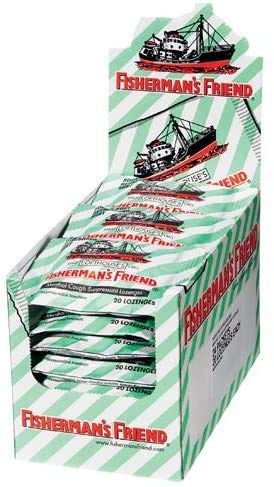 FISHERMAN'S FRIEND MINT Sugar Free Lozenges 24 x 25g FREE UK DELIVERY
