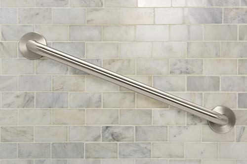 Moen 8724 Home 24-Inch Bathroom Grab Bar, Stainless