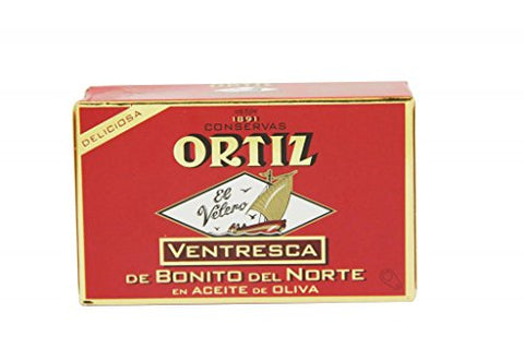 Bonito del Norte Ventresca (Belly) Tuna, 3.88oz
