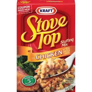STOVE TOP STUFFING MIX CHICKEN 6 OZ