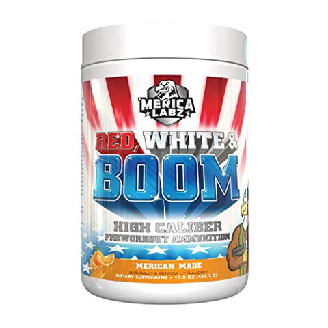 :'Merica Labz Red, White and Boom | 20 Servings (Orange)