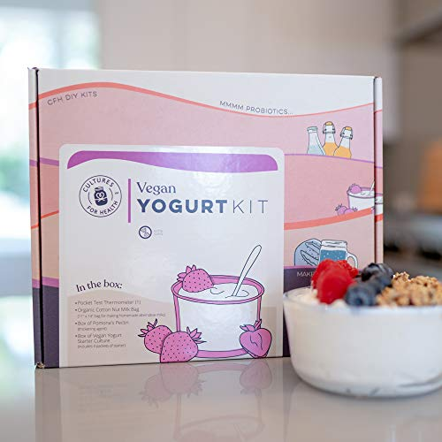Vegan Yogurt Starter Kit | Cultures for Health | All the supplies you need to make delicious, plant-based yogurt